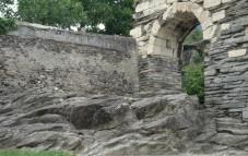 Altare celtico con roccia colppellata
